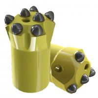 Buy cheap Quarry / Mining /  Well Drilling Carbide Drill Bits with 6° 7°  11° 12° Tapered Degree from Wholesalers