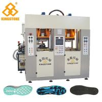 Buy cheap Static Type Double Stations TPR Sole Making Machines Two Injector 70-100 Pairs Per Hour product