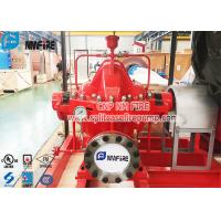 Buy cheap UL Listed Red Color Split Case Fire Water Pump Ductile Cast Iron Material product