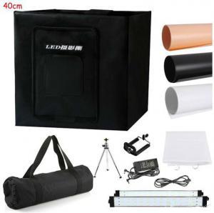 Buy cheap 40cm/16Photo Studio Photography 80LED Light Tent Backdrop Kit Cube Lighting Box product