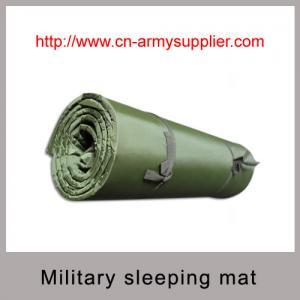 China Army Green Waterproof Nylon military sleeping mat with good quality EVA on sale
