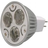 Buy cheap GU10 MR16 DC 12V / 24V Dimmable LED Ceiling Light 3 X 1W high effciency for decoration product