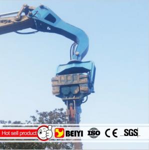 China Construction equipment excavator mounted pile machine hydraulic vibro hammer on sale