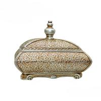 Buy cheap Room Decor Antique Style Jewellery Box , Flower Sculpture Victorian Jewelry Box product