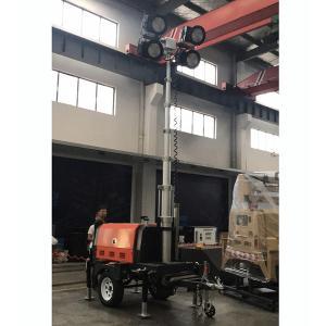 Buy cheap LED Mobile Light Tower-Perkins Engine-Stamford Alterantor-7KVA-Diesel Generator Mobile Light Tower product
