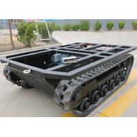 1760mm Length Crawler Track Undercarriage Driving Tension Wheel Optional
