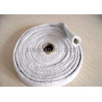 Buy cheap High Temperature Ceramic Fiber Heat Insulation Sleeve / Sleeving Fire Retardant product