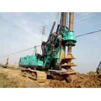 Buy cheap Durable Mobile Pile Driving Equipment Max Torque 80kNm KR80K Rotary Piling Rig Machine product