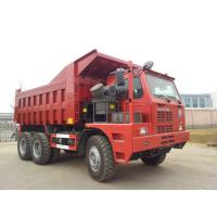 Buy cheap 70 Tons Mining King 6x4 Tipper Truck10 Wheeler With Front Lifting System product