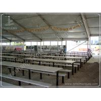 Buy cheap Beer Festival PVC Clear Span Tents Waterproof Marquee Hire 20x50M 1000 Sqm product