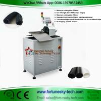 Buy cheap Fully Automatic HDPE Pipe Rotary Cutting Machine Fuel Hose Pipe Cutter Cut To Length product