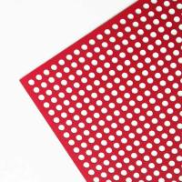 China Galvanized Round Hole Perforated Sheet For Farm Equipment on sale
