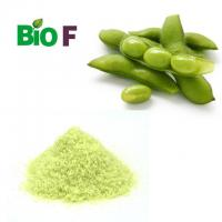 Buy cheap Light Green Protein Soybean Powder 40% Isoflavones Natural Food Additives For Pigment product