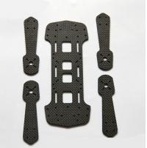 Carbon Fiber Quadcopter Frame,Carbon Fiber CNC Cutting