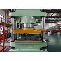 Buy cheap Press Dwon 1000 Ton Clamp Force Rubber Elastomeric Bearing Vulcanizing Molding from wholesalers