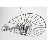 Industrial Style Living Room Straw Hat Chandelier Irradiated Area 10㎡-15㎡
