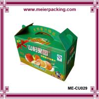 Buy cheap Wholesale corrugated fresh vegetable packaging carton ME-CU029 product