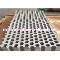China High Tensile Strength Perforated Metal Sheet Stainless Steel Rust Resistance on sale