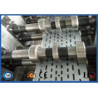 Buy cheap Galvanized steel Heavy Duty Cable Tray Roll Forming Machine High speed 10-18m/min product