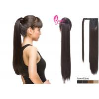 Buy cheap Premier 10 - 30 Inch Drawstring Ponytail Extension Human Hair Cuticle Aligned Virgin Brazilian product