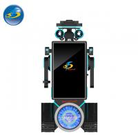 Buy cheap Custom Made Auto VR Game Machine With Cool Robot Appearance 250 kg product