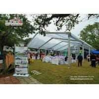 Buy cheap Transparent 10m Clear Span Marquee Tent Outdoor Wedding Marquee For Outdoor Show from Wholesalers