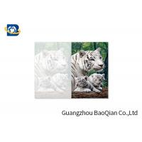 Buy cheap Lovely Animals 3D Image Lenticular Card Printing Two Sides CMYK Offset Printing product