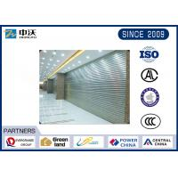 China Wear Resistant Fireproof Roller Shutters With Aluminum Silicate Fiber Blanket on sale