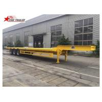 Buy cheap 3 Axles Front Load Trailer High Strength Steel Material For Cargo Transportation product