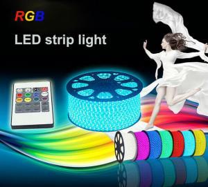 Buy cheap Ip68 30 LEDs / Meter 12V / 24V RGB LED Strip Light with SMD 5050 chips Warm White product