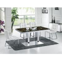 Buy cheap Modern Marble with Stainless Steel Frame Dinning Set Furniture for Dinning Room Wholesale product