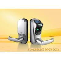 Buy cheap Multi Language Fingerprint Door Lock Support Password Lenth 6-10 Digit product