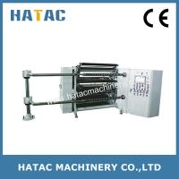 Buy cheap 300m/min Adhesive Tape Slitting Machinery,Bond Paper Slitter and Rewinder product