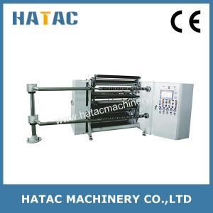 Buy cheap High Precision Cellophane Paper Converting Machine,Paper Board Slitter Rewinder,PET Slitting Rewinding Machine product