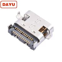 Buy cheap SMT PCB Mount 24 Pin Female Connector , 3.0 Usb Type C Female Connector product