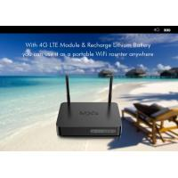 Buy cheap 4G LTE 2GB/16GB WiFi OTT Android Box With SIM Card Slot For China / India product