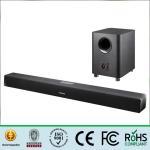 Buy cheap Portable Soundbar Wireless Subwoofer , Bluetooth Soundbar Speakers 110W Output product