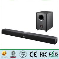 Quality Bluetooth 2.1 Sound Bar Wireless Subwoofer , Tv Sound Bar Speaker 80Hz-16KHz Frequency for sale