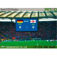 Buy cheap Indoor P4.81 Stadium LED Screens Full Color Sport LED Display Scoreboards product
