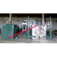 Buy cheap Black car engine oil recycling system, black motor oil refinery vacuum distillation Purifier Machine product