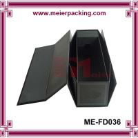Buy cheap Foldable Rigid Red Wine Packaging Box/Fashion Top Design red wine box ME-FD036 product