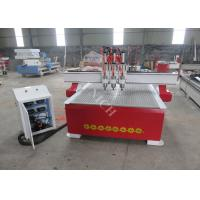 Buy cheap Three spindles auto tool changer cnc router woodworking machine with vacuum table product