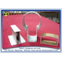 Quality LED Light Accessories Extrusion Aluminum Profiles For Decorative Lighting for sale