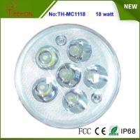 Buy cheap Replacing halogen or HID, 18 Watt Round LED Work Light, LED Headlight for Motorcycle Model product