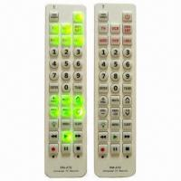 Buy cheap Universal Remote Controls with Backlight, TV, SAT, DVD, CBL, VCR and Aux product