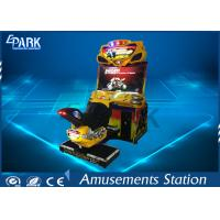 Buy cheap 110 / 220V Racing Game Machine Coin Operated 11 Race Track FF Motor product