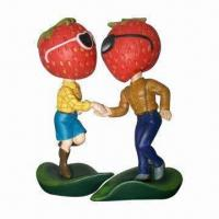 Buy cheap Couple Bobble Head, Various Designs/Materials/Sizes Available, Customized Logos Welcomed product