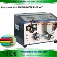 Buy cheap Automatic 27awg-2awg 0.1-35sqmm Full or Partial Wire Stripping Machine product