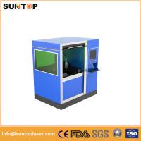 Buy cheap 500W Small size fiber laser cutting machine for stailess steel and brass cutting product