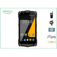 Buy cheap SJ9 IP68 Smartphone 5.5inch Android 7.0os with Fingerprint IR QI charge from Wholesalers